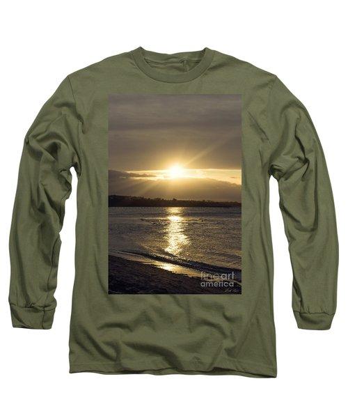 Bathed In Golden Light Long Sleeve T-Shirt