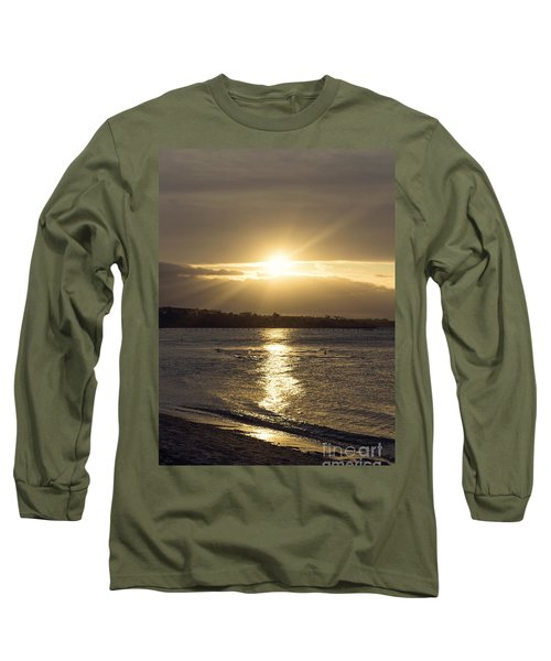 Bathed In Golden Light Long Sleeve T-Shirt