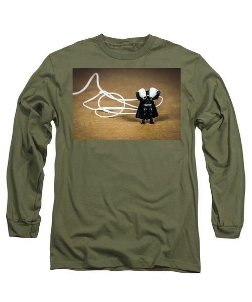 Batman Likes Music Too Long Sleeve T-Shirt