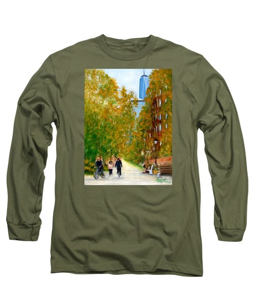 Battery Park City Ny Long Sleeve T-Shirt