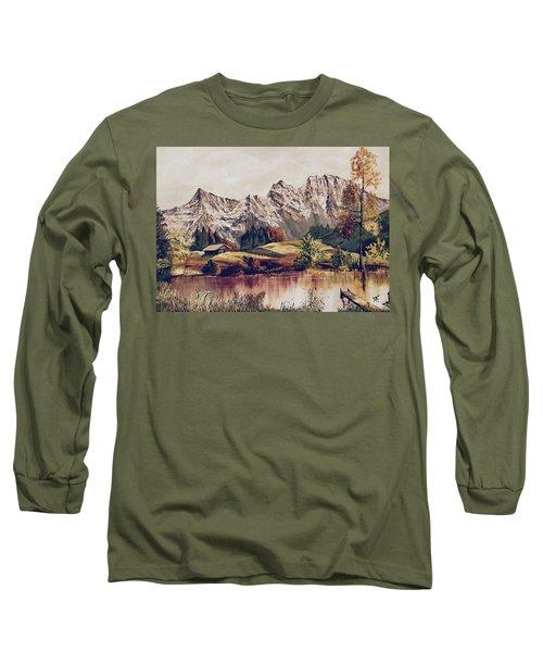 Bavarian Landscape Long Sleeve T-Shirt