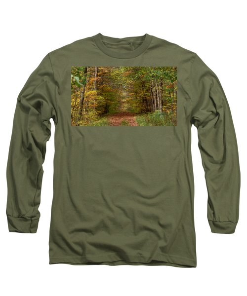 Long Sleeve T-Shirt featuring the photograph Baxter's Hollow  by Kimberly Mackowski