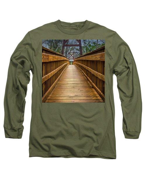 Bayou Foot Bridge Long Sleeve T-Shirt