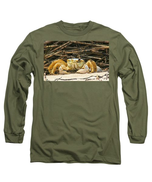 Beach Crab Long Sleeve T-Shirt