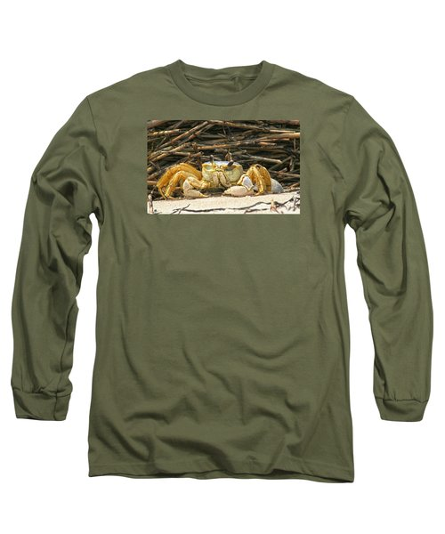 Beach Crab Long Sleeve T-Shirt