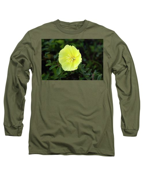 Beach Flower Long Sleeve T-Shirt