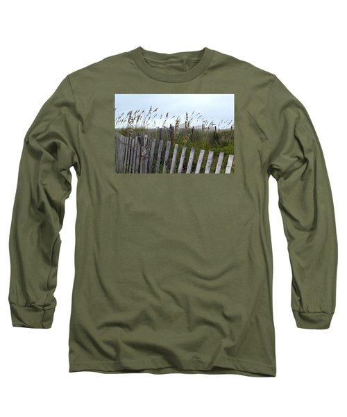 Beach Is Calling Long Sleeve T-Shirt by Deborah  Crew-Johnson