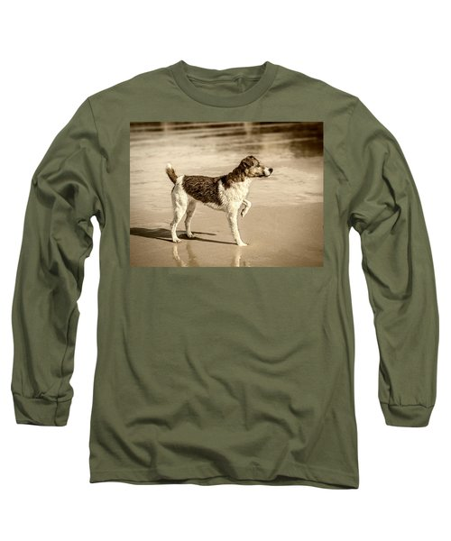 Long Sleeve T-Shirt featuring the photograph Beach Ready by Nick Bywater