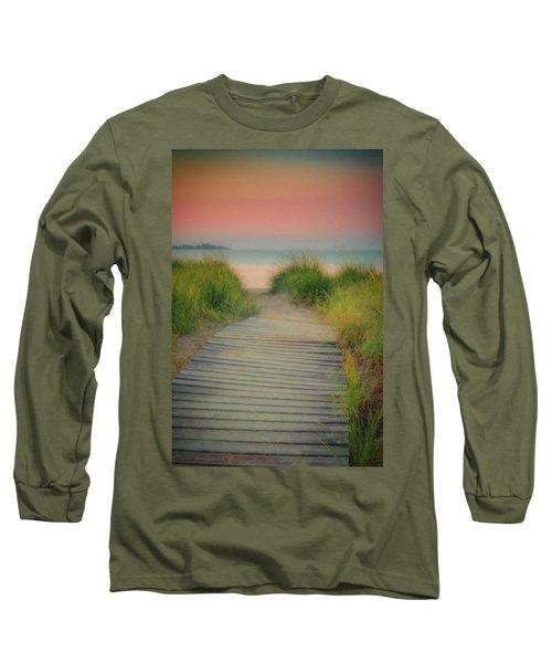 Beach Sunrise Long Sleeve T-Shirt