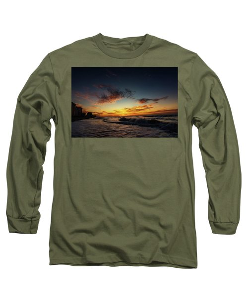 Beach Sunrise Long Sleeve T-Shirt