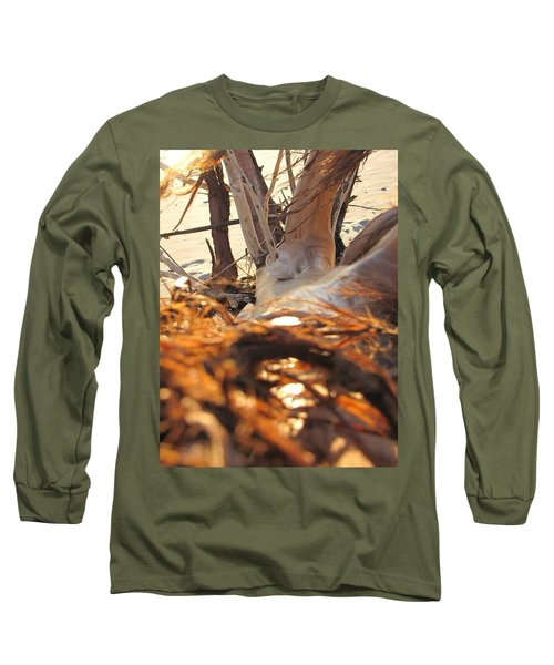 Beach Wood Long Sleeve T-Shirt