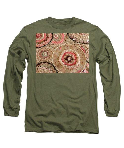 Beaded Design Long Sleeve T-Shirt