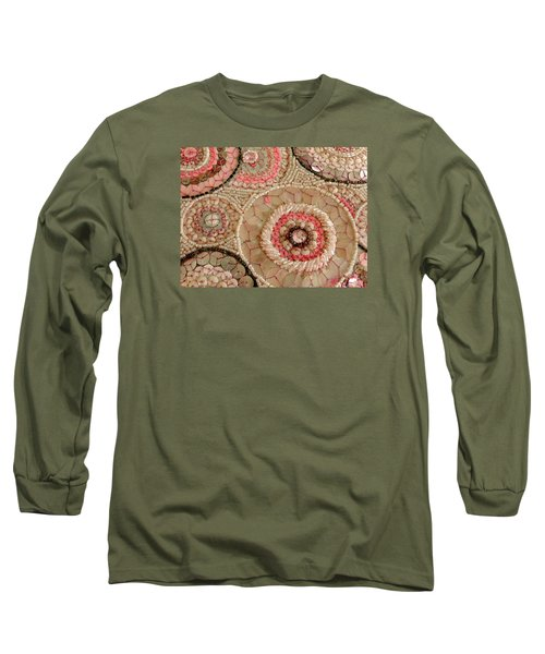 Beaded Design Long Sleeve T-Shirt