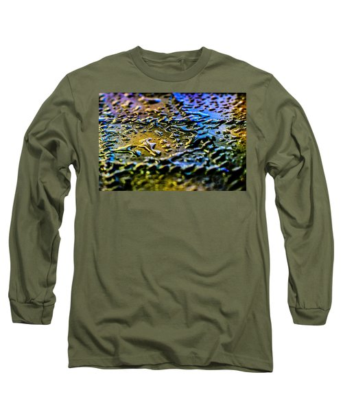 Beaded Water Texture Long Sleeve T-Shirt