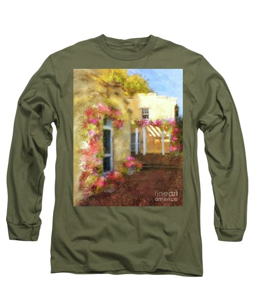 Long Sleeve T-Shirt featuring the digital art Beallair In Bloom by Lois Bryan