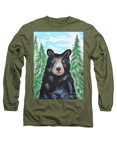 Bear In The Woods Long Sleeve T-Shirt