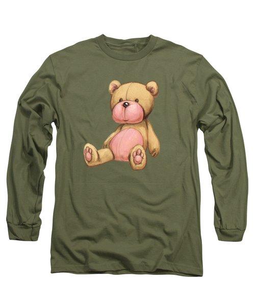 Bear Pink Long Sleeve T-Shirt