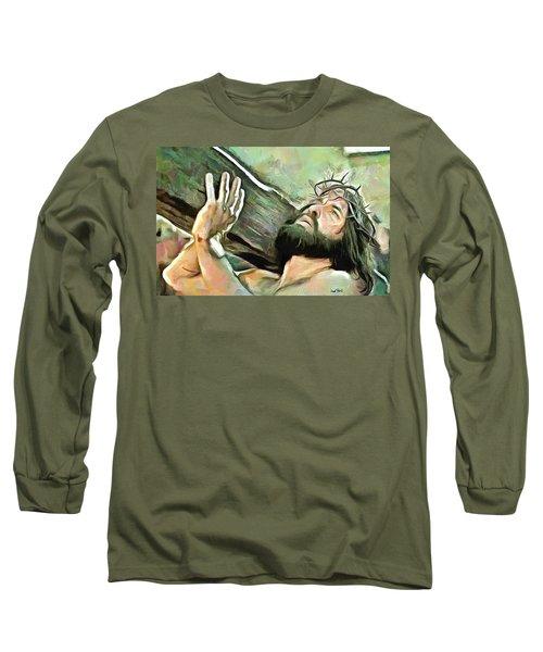 Bearing The Cross Long Sleeve T-Shirt