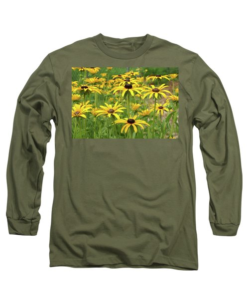 Beautiful Black Eyes Long Sleeve T-Shirt