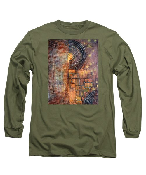 Beautiful Corrosion Long Sleeve T-Shirt by Theresa Marie Johnson