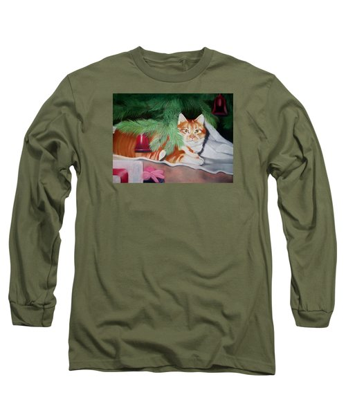 Beautiful George Long Sleeve T-Shirt by Marika Evanson
