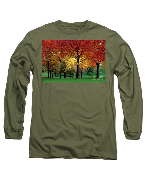 Beautiful Light At The Park In St. Louis In Autumn Long Sleeve T-Shirt