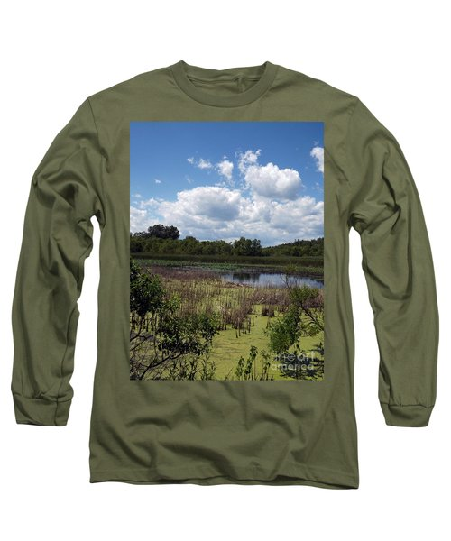 Beautiful Marsh View Long Sleeve T-Shirt