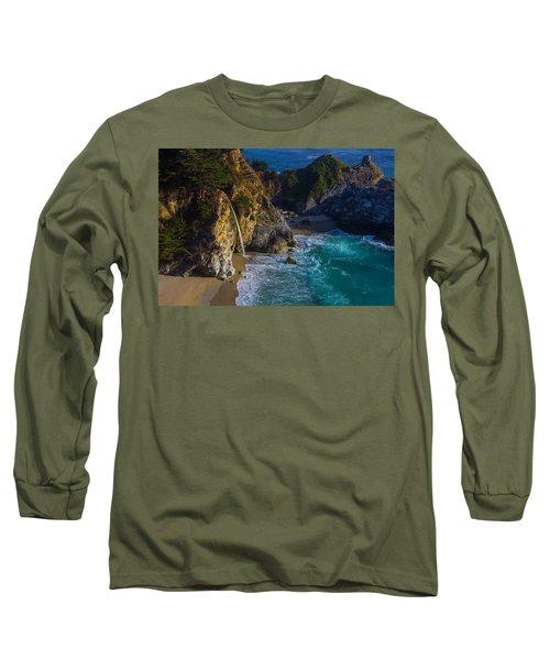 Beautiful Mcway Falls Long Sleeve T-Shirt