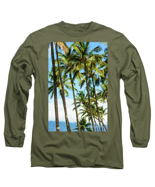 Long Sleeve T-Shirt featuring the photograph Beautiful Palms Of Maui 16 by Micah May