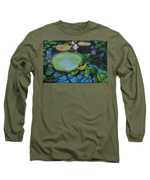 Beautiful  Pond  Long Sleeve T-Shirt