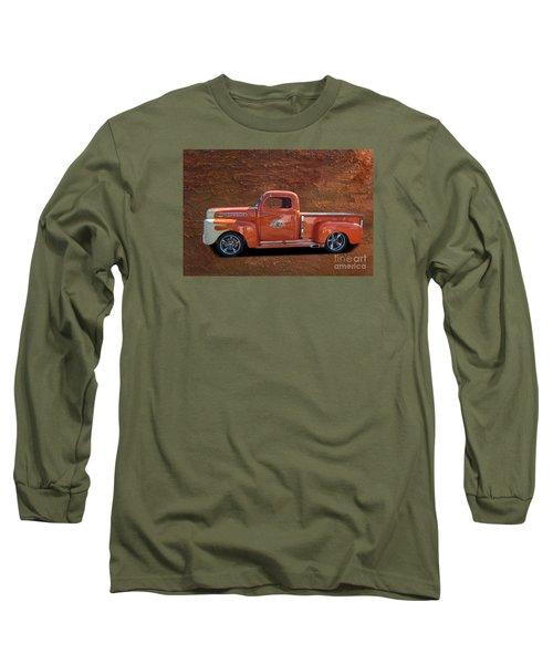 Beautiful Truck Long Sleeve T-Shirt by Jim  Hatch