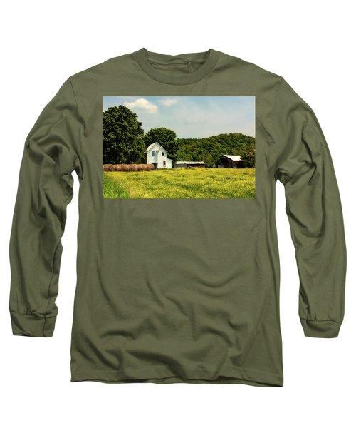 Beautiful West Virginia Long Sleeve T-Shirt by L O C