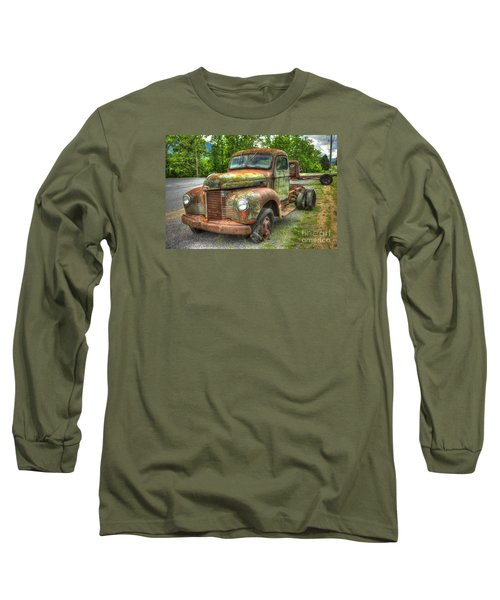 Beauty And The Best 1947 International Harvester Kb 5 Truck Long Sleeve T-Shirt