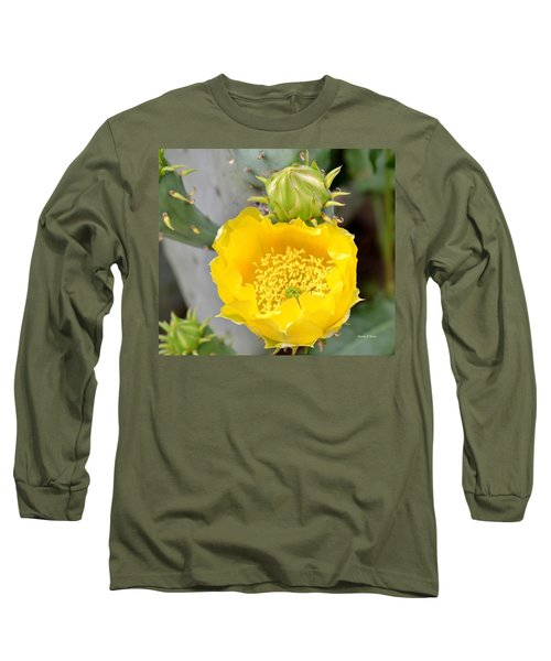 Beauty Begets Beauty Long Sleeve T-Shirt by Maria Urso