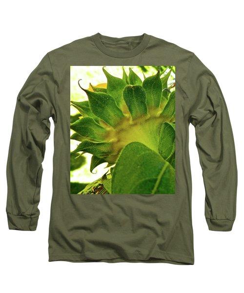 Beauty Beneath Long Sleeve T-Shirt by Randy Rosenberger