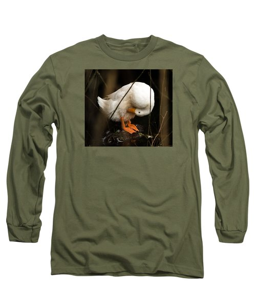 Long Sleeve T-Shirt featuring the photograph Beauty In Motion by E Faithe Lester