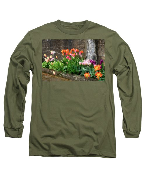 Long Sleeve T-Shirt featuring the photograph Beauty In Ruins by Michael Hubley