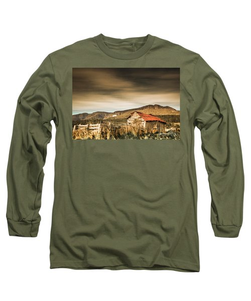 Beauty In Rural Dilapidation Long Sleeve T-Shirt