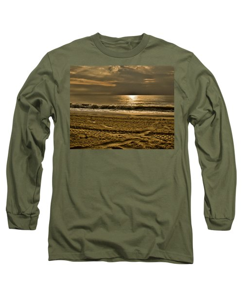 Beauty Of A Day Long Sleeve T-Shirt by Trish Tritz