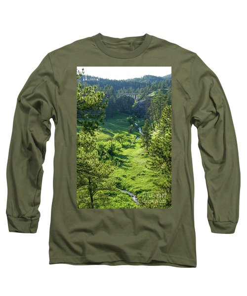 Long Sleeve T-Shirt featuring the photograph Beaver Creek In The Spring by Bill Gabbert