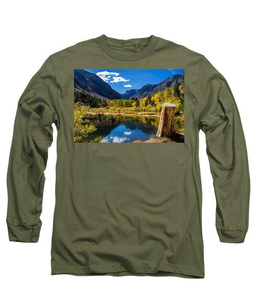 Beaver Pond Long Sleeve T-Shirt