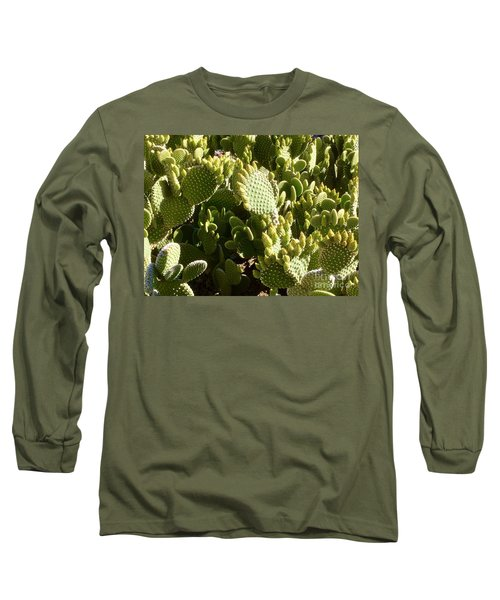 Beaver Tail Cactus, Cave Creek, Arizona Long Sleeve T-Shirt