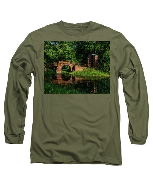 Beckerbruch Bridge Reflection Long Sleeve T-Shirt