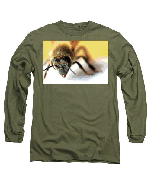Bee In Macro 5 Long Sleeve T-Shirt