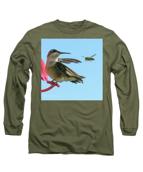 Bee_bird Long Sleeve T-Shirt