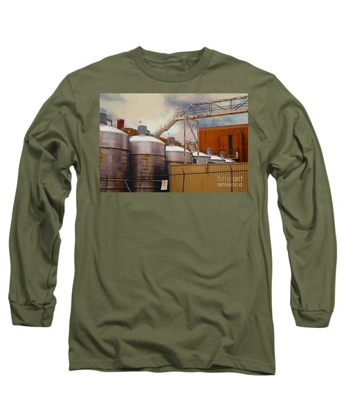 Beer Long Sleeve T-Shirt by David Blank