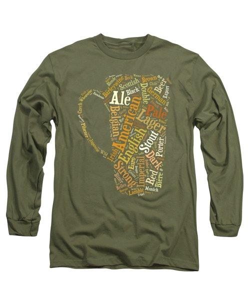 Beer Lovers Tee Long Sleeve T-Shirt