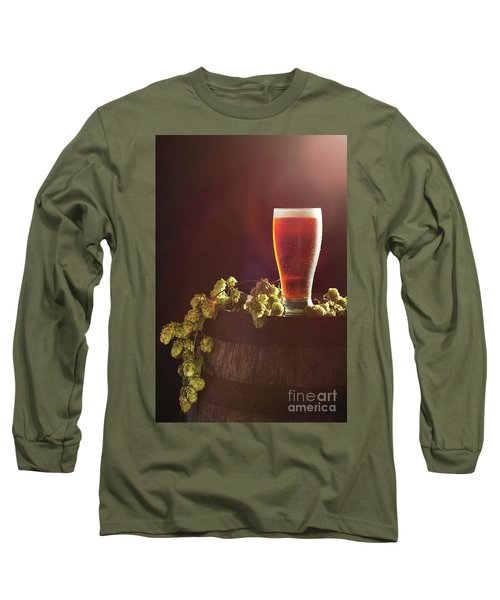 Beer With Hops Long Sleeve T-Shirt