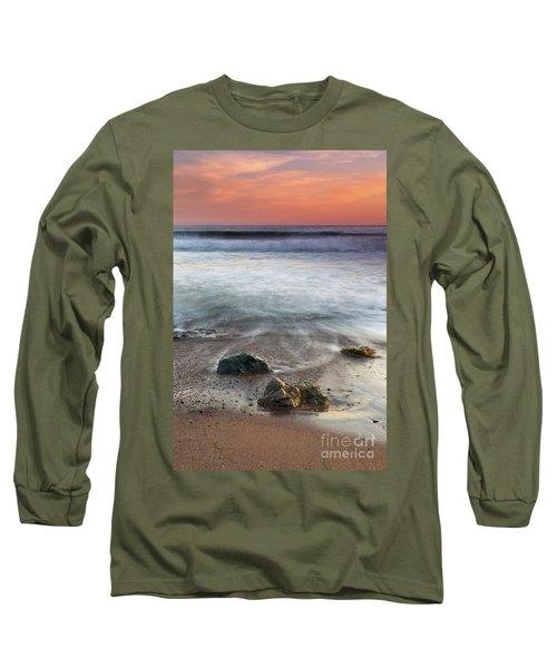 Before Sunset At Shell Beach Long Sleeve T-Shirt