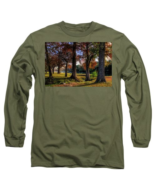 Beginning Of Fall In Texas Long Sleeve T-Shirt